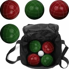 Full Size 10 Piece Premium Bocce Game Set