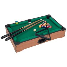 """Mini Table Top 20"""" Pool Table & Accessories"""
