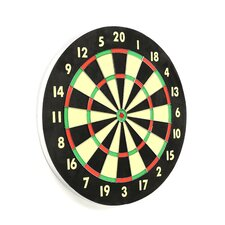 Game Room Dart Set with 6 Darts and Board