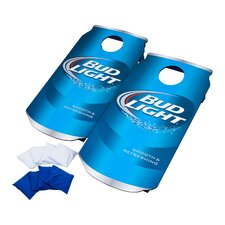 Bud Light Can 10 Piece CornHole Bean Bag Toss Game Set