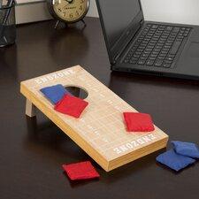7 Piece Tabletop Football Cornhole Game