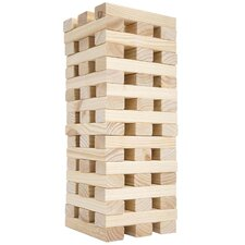 Large Wooden Tumbling Tower