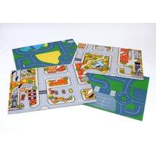4-tlg. Spielmatten-Set Early Years