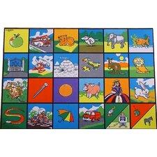 Spielmatte Alphabet Picture