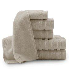 Pure Elegance Turkish 6 Piece Towel Set