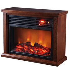 Thermal Wave Portable Infrared Electric Fireplace