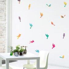 Pattern Birds Mini-Pack Wall Decal