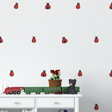 Ladybugs Mini-Pack Wall Decal