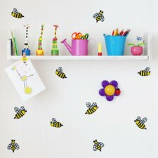 Honey Bees Mini-Pack Wall Decal