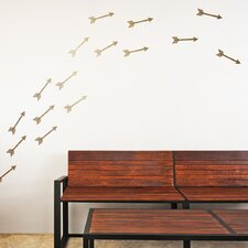 Flying Arrows 30 Piece Wall Decal Set