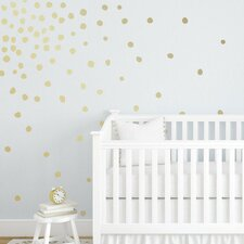 Dottie Removable 72 Piece Wall Decal Set