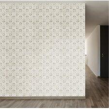 "Milania Removable 8' x 20"" Chevron Wallpaper"