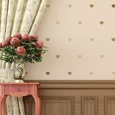 Hearts Mini-Pack Wall Decal