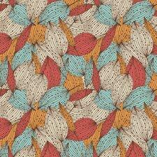 "Colorful Autumn Removable 5' x 20"" Floral Wallpaper"