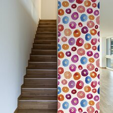 """A Pop of Color Removable 10' x 20"""" Abstract Wallpaper"""