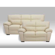 3-Sitzer Einzelsofa Bella Genuine aus Leder