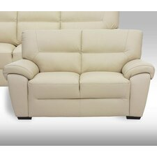 2-Sitzer Einzelsofa Bella aus Leder
