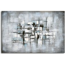 'Obscured View' Original Painting on Canvas