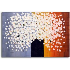 """Bouquet of Pure White"" Original Painting on Canvas"