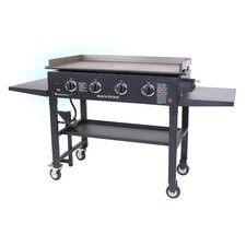 "36"" Griddle Gas Grill Cooking Station"