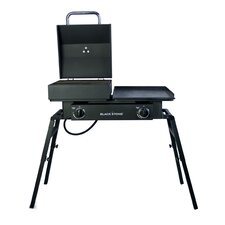 Tailgater Gas Grill with Griddle Plate