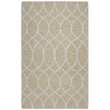 Caterine Hand-Tufted Beige Area Rug