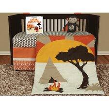 African Dream 5 Piece Crib Bedding Set