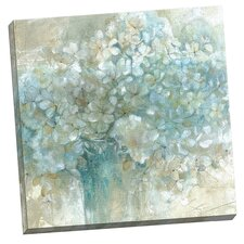Hydrangeas by E. Franklin Painting Print on Wrapped Canvas