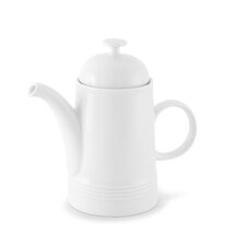 Jeverland White Coffee Pot