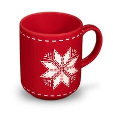 Becher Happymix Weihnachten Rot
