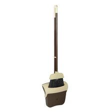 2-Piece Broom and Dustpan Set