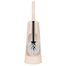 Palm Luxe Free Standing Toilet Brush and Holder