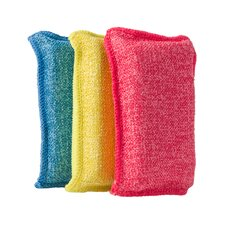 Superio Brand Ultra Microfiber Miracle Scrubbing Sponge (Pack of 3)