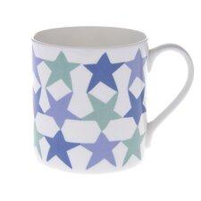 10cm Fine Bone China Stars Mug