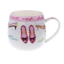10cm Fine Bone China Never Enough Shoes Mug