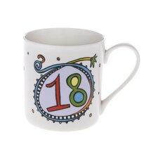 Celebrations 10cm Fine Bone China 18 Mug