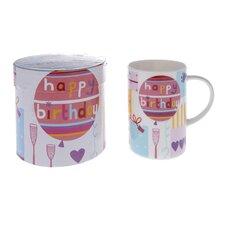 Celebrations 10cm Fine Bone China Happy Birthday Mug