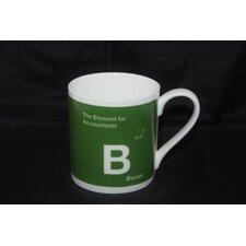 One Big Element 9.5cm Fine Bone China Boron Accountants Mug