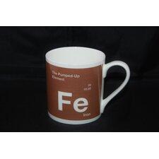 One Big Element 9.5cm Fine Bone China Iron Pumped up Mug