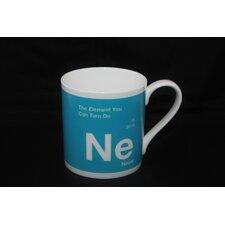 One Big Element 9.5cm Fine Bone China Neon Turn On Mug