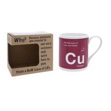 One Big Element 9.5cm Fine Bone China Copper Law and Order Mug
