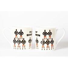 Woop Studios 10cm Fine Bone China A Clan of Scotsmen Mug