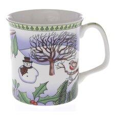 Crown Regal 10cm Fine Bone China Winter Mug