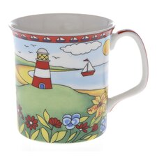 Crown Regal 10cm Fine Bone China Summer Mug