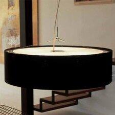 Plis 4 Light Drum Foyer Pendant