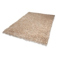 Handgewebter Teppich Trendy Corado in Creme