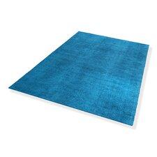 Handgewebter Teppich Bella in Türkis