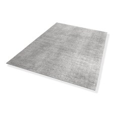 Handgewebter Teppich Bella in Grau