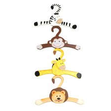 Sunny Safari Hanger (Set of 4)