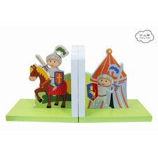 Knights & Dragons Book End (Set of 2)